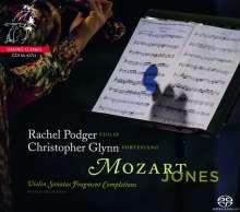 Wolfgang Amadeus Mozart (1756-1791): Violinsonaten (vervollständigte Fragmente von Timothy Jones), Super Audio CD