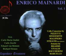 Enrico Mainardi - Legendary Treasures Vol.1, 3 CDs