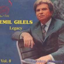 Emil Gilels - Legendary Treasures Vol.8, CD