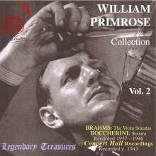 William Primrose - Legendary Treasures Vol.2, CD