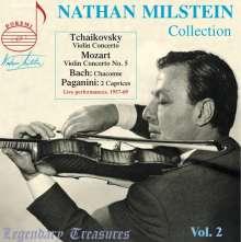 Nathan Milstein - Legendary Treasures, CD