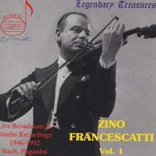 Zino Francescatti - Legendary Treasures Vol.1, CD