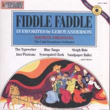 Leroy Anderson (1908-1975): Fiddle Faddle, CD