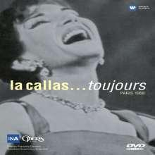 Maria Callas in Paris 19.12.58 - la callas...toujours, DVD