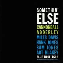 Miles Davis & Cannonball Adderley: Somethin' Else (Rudy Van Gelder Remaster), CD