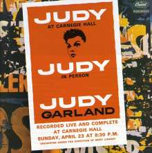 Judy Garland: At Carnegie Hall 23.4.1961, 2 CDs