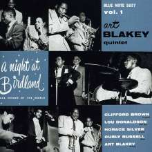 Art Blakey (1919-1990): A Night At Birdland Vol.1 (Rudy Van Gelder Remasters), CD