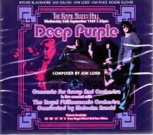 Deep Purple: Concerto For Group And Orchestra: The Royal Albert Hall 1969, 2 CDs