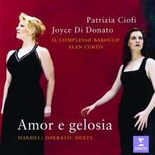 "Georg Friedrich Händel (1685-1759): Opern-Duette ""Amor e gelosia"", CD"