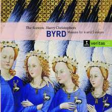 William Byrd (1543-1623): Mass for 4 Voices, 2 CDs