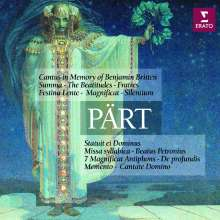 Arvo Pärt (geb. 1935): Cantus in Memory of Benjamin Britten, 2 CDs