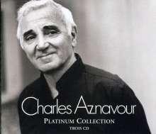 Charles Aznavour (1924-2018): Platinum Collection, 3 CDs