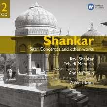 Ravi Shankar (1920-2012): Sitarkonzerte Nr.1 & 2, 2 CDs