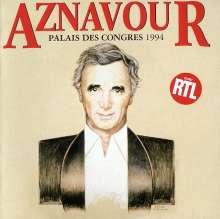 Charles Aznavour (1924-2018): Live au palais des cong, 2 CDs