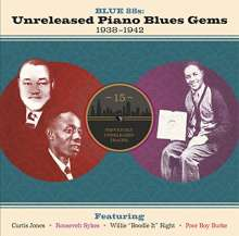Blues Sampler: Blue 88s: Unreleased Piano Blues Gems 1938 - 1942, CD
