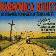Harmonica Blues: Great Harmonica Performances Of The 1920's & 30's (180g) (Limited Edition), LP