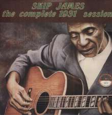 Skip James: The Complete 1931 Session (180g) (Limited Edition), LP