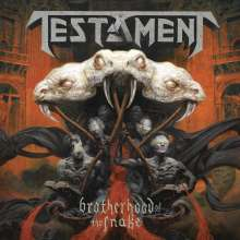 Testament (Metal): Brotherhood Of The Snake (140g) (Limited Edition) (Picture Disc) (Box-Set), 2 LPs und 1 CD