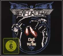 Enforcer: Live By Fire (Limited Edition), 1 CD und 1 DVD