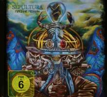 Sepultura: Machine Messiah (Limited Edition), 1 CD und 1 DVD