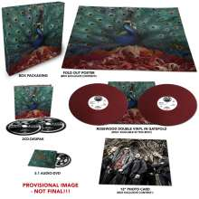 Opeth: Sorceress (Limited-Edition-Box-Set) (Rosewood Vinyl), 2 LPs, 2 CDs und 1 DVD-Audio