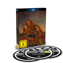 Opeth: Garden Of The Titans (Live At Red Rocks Amphitheater 2017), 1 Blu-ray Disc und 2 CDs