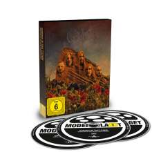 Opeth: Garden Of The Titans (Live At Red Rocks Amphitheater 2017), 1 DVD und 2 CDs