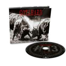 Gotthard: #13 (Limited Deluxe Edition), CD