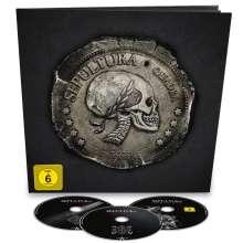 Sepultura: Quadra (Limited Edition Earbook), 2 CDs und 1 Blu-ray Disc