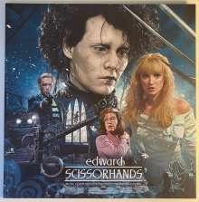 Danny Elfman (geb. 1953): Filmmusik: Edward Scissorhands (180g) (Ice Sculpture Blue Vinyl), LP