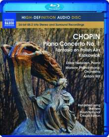 Frederic Chopin (1810-1849): Klavierkonzert Nr.1, Blu-ray Audio