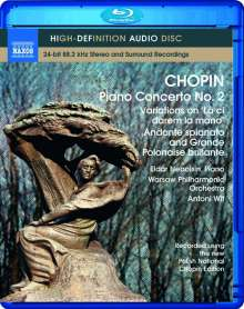 Frederic Chopin (1810-1849): Klavierkonzert Nr.2, Blu-ray Audio