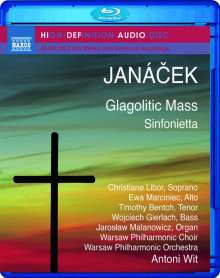Leos Janacek (1854-1928): Missa Glagolitica, Blu-ray Audio