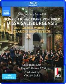 Heinrich Ignaz Biber (1644-1704): Missa Salisburgensis, Blu-ray Disc