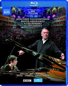 BBC Proms at the Royal Albert Hall 2016, Blu-ray Disc