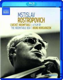 Mstislav Rostropovich - The Indomitable Bow, Blu-ray Disc