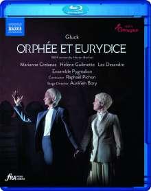 """Christoph Willibald Gluck (1714-1787): Orpheus & Eurydike (in der Version von Hector Berlioz nach der Pariser Fassung """"Orphee et Eurydice""""), Blu-ray Disc"""