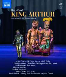 Henry Purcell (1659-1695): King Arthur, Blu-ray Disc