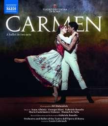 Corpo di Ballo del Teatro dell'Opera di Roma: Carmen, Blu-ray Disc