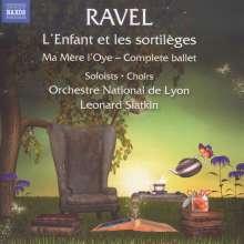 Maurice Ravel (1875-1937): L'Enfant et les Sortileges, CD