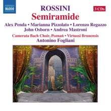 Gioacchino Rossini (1792-1868): Semiramide, 3 CDs
