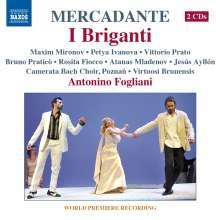 Saverio Mercadante (1795-1870): I Briganti, 2 CDs
