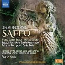 Johann Simon (Giovanni Simone) Mayr (1763-1845): Saffo, 2 CDs