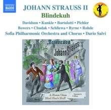 Johann Strauss II (1825-1899): Blindekuh (Operette in 3 Akten), 2 CDs