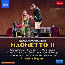 Gioacchino Rossini (1792-1868): Maometto II (Neapel Version), 4 CDs