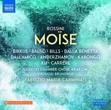Gioacchino Rossini (1792-1868): Mose (Version von 1827), 3 CDs