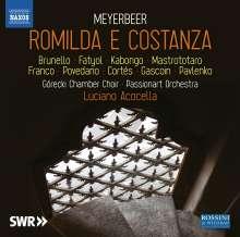 Giacomo Meyerbeer (1791-1864): Romilda e Costanza, 3 CDs