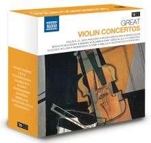 Great Violin Concertos, 10 CDs
