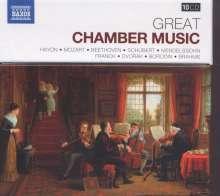 Great Chamber Music, 10 CDs