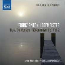 Franz Anton Hoffmeister (1754-1812): Flötenkonzerte Vol.2, CD